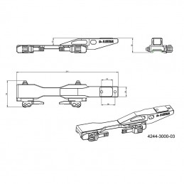 Montáž termovize EAGLE TSV 14-02, TSV 14-03 dlouhé provedení