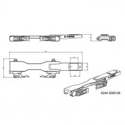 Montáž termovize EAGLE TSV 14-02, TSV 14-03 dlouhé provedení, ergonomické upínací páčky