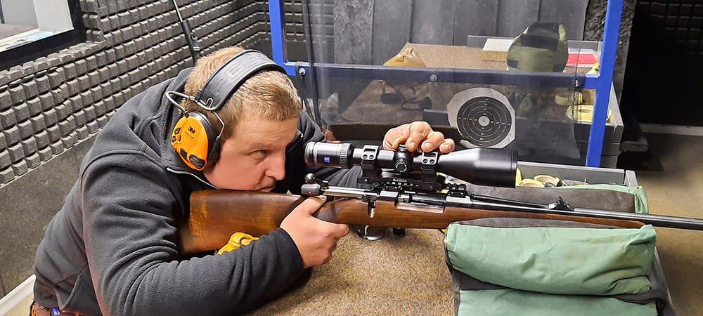 Seřízení puškohledu