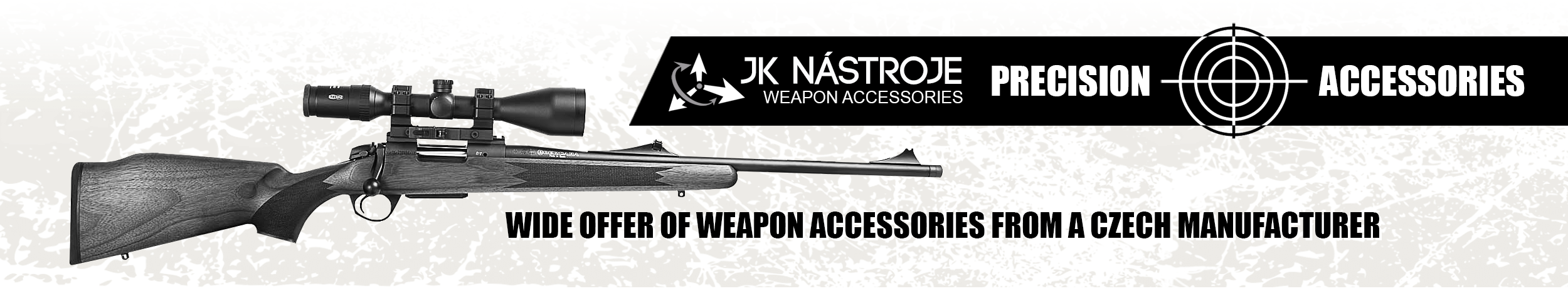 Wide offer of weapon accessories from a Czech manufacturer